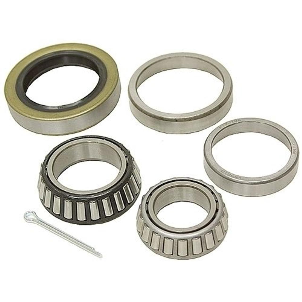 1-3/8 x 1-1/16 Inch Boat Trailer Wheel Bearing Kit - Bearings, Seal & Cotter Pin