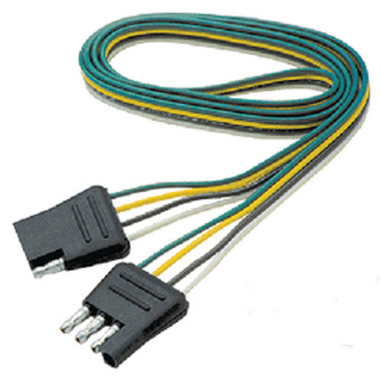 60 Inch Long Flat 4 Way Boat Trailer Wiring Harness Extension A Boat Trailer Wiring Harness on