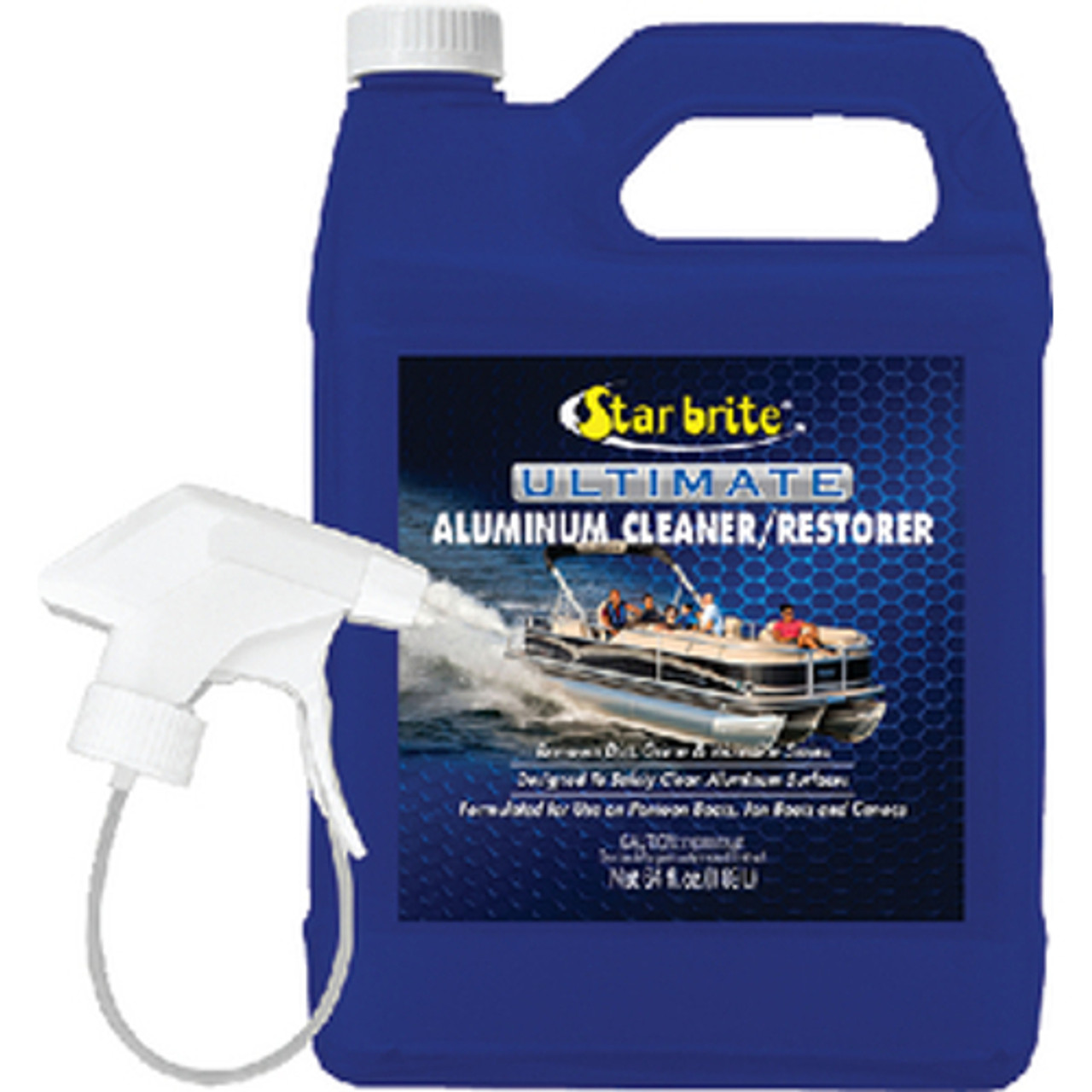 Star Brite Ultimate Aluminum Cleaner and Restorer - Cleans Aluminum  Pontoons, Jon Boats and Canoes
