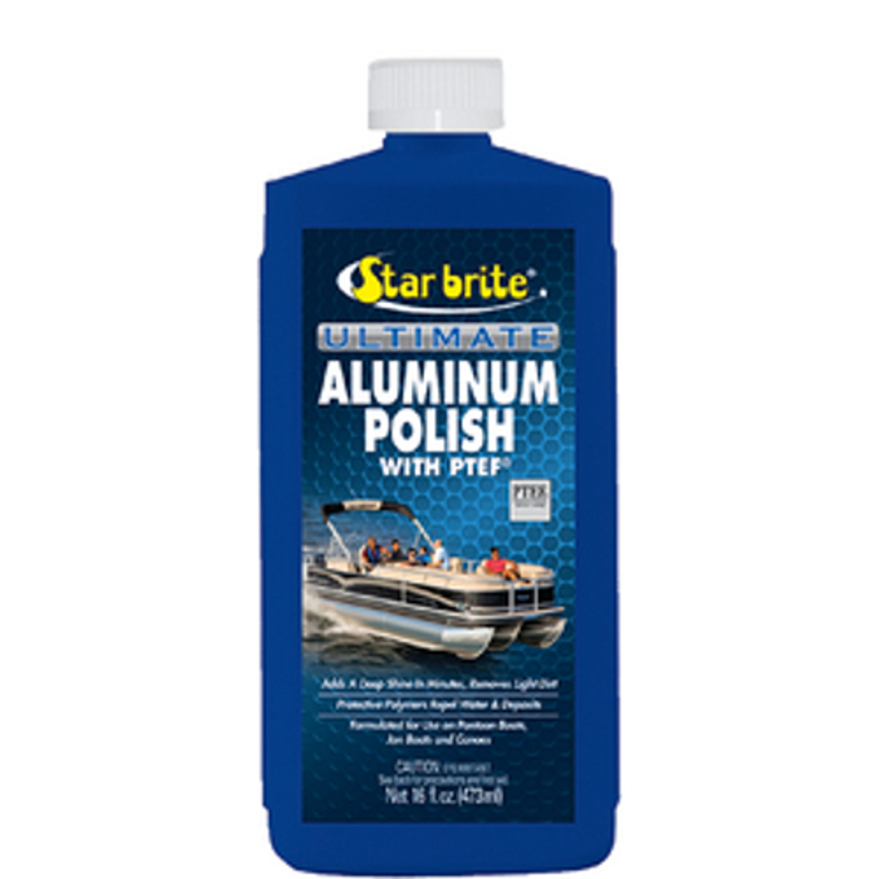 Star Brite Pontoon Boat Ultimate Aluminum Cleaner, Restorer and Polishing Kit
