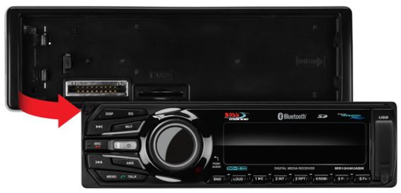 Boss Marine Bluetooth AM / FM / USB / SD / MP3 Mech-Less Marine Stereo Receiver