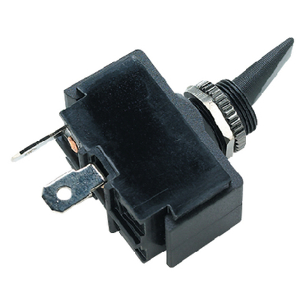 Black SPST 2 Position Momentary On / Off Toggle Switch for Boats
