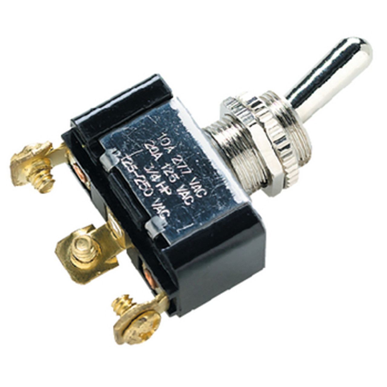 "Boat Marine On Off On Toggle Switch 15//32/"" Mounting Stem 25 Amps @ 12 Volts DC"