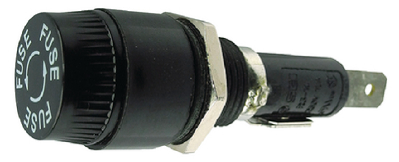 Rated up to 15A Panel Mount SFE,AGC or MDL Fuse Holder for Boats