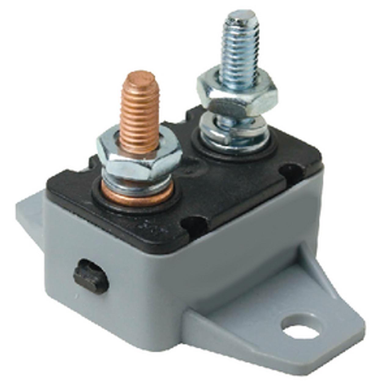 Buss Marine Grade Heavy Manual Reset 50 amp DC Breaker Fuse #25450
