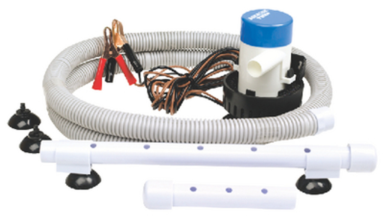 Portable Livewell Aeration Pump System Kit for Boats - Make Your Own Livewell