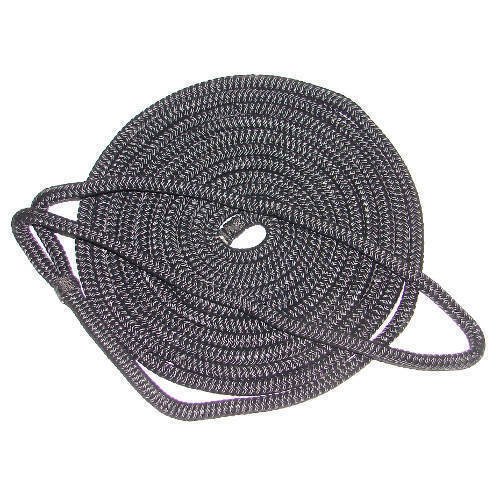 1/2 Inch x 15 Ft Double Braid Nylon Mooring and Docking Line for Boats - Multiple Colors Available