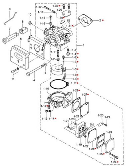 9950FPKIT Nissan & Tohatsu Fuel Pump Repair Kit - White's Marine on