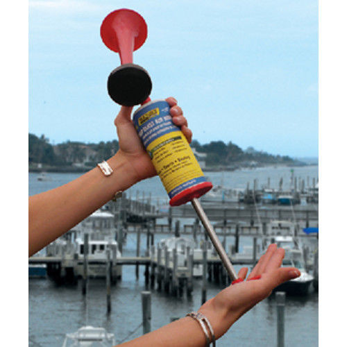 110 dB Large Pump Blast Signal Air Horn for Boats - US Coast Guard Approved