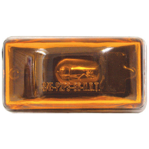 Amber Submersible Mini Sealed Boat Trailer Clearance and Side Marker Light