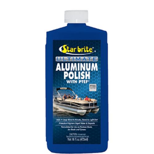 Star Brite Ultimate Aluminum Polish with PTEF - Polish Aluminum Pontoons, Jon Boats and Canoes