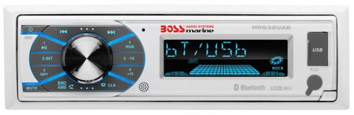 Boss Marine Bluetooth In-Dash MP3 / USB / SD Digital Media AM / FM Marine Stereo Receiver