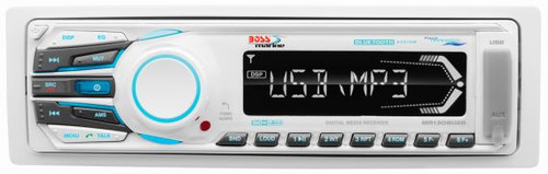 Boss Marine Bluetooth Digital Media AM / FM / USB / MP3 / SD / AUX Mech-Less Marine Stereo Receiver