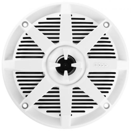 """Boss Marine Pair of 5-1/4"""" White 2-Way Marine Full Range 150 Watt Speakers"""