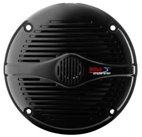 """Boss Marine Pair of 5-1/4"""" Black 2-Way Marine Full Range 150 Watt Speakers"""