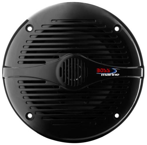 """Boss Marine Pair of 6-1/2"""" Black 2-Way Marine Full Range 200 Watt Speakers"""