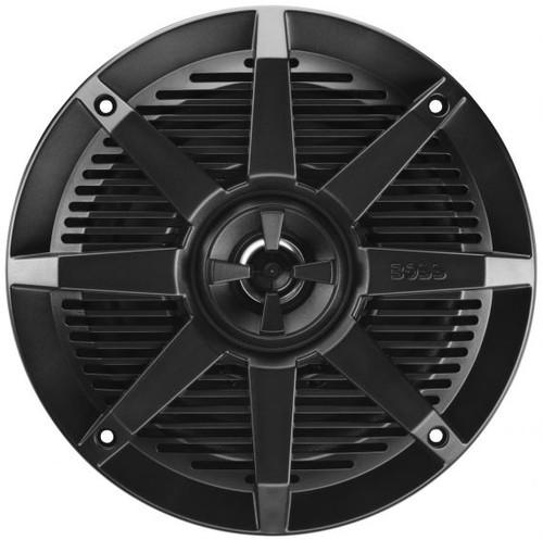 """Boss Marine Pair of 6-1/2"""" Black Marine 2-Way Full Range 200 Watt Speakers"""