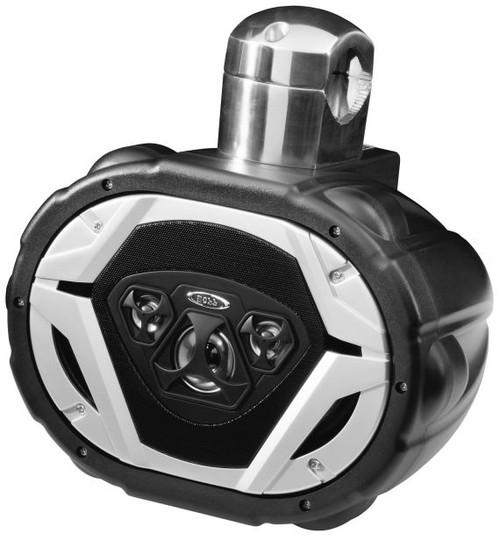 """Boss Marine 6"""" x 9"""" Weatherproof 4-Way Marine Wake Tower 550 Watt Speaker"""