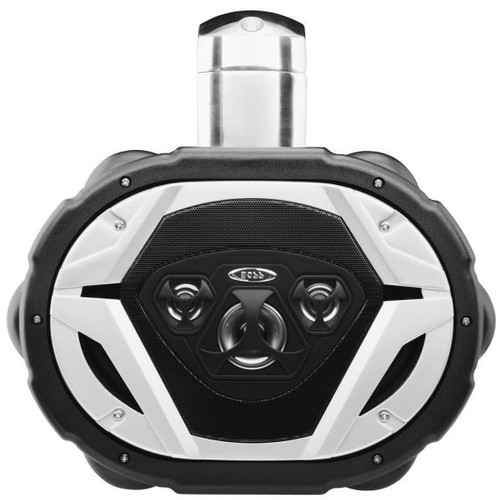 "Boss Marine 6"" x 9"" Weatherproof 4-Way Marine Wake Tower 550 Watt Speaker"
