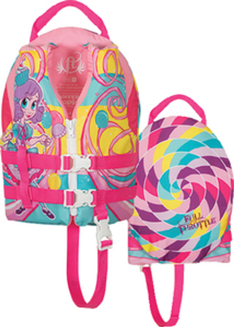 Full Throttle Princess Water Buddies Child Type III PFD Safety & Life Vest for Boats