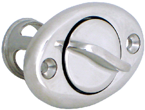 Screw Type Stainless Steel Drain Plug for Boats - Fits 1-1/4 Inch Diameter Hole