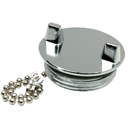 Replacement Chrome Plated Zinc Cap for Seachoice 50-32041 Gas Fill for Boats