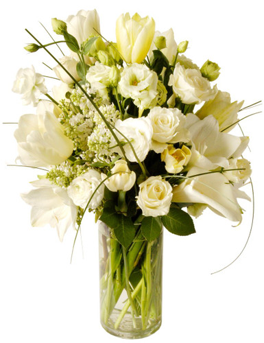 Shades of Ivory- Calla Lilies, tulips & more