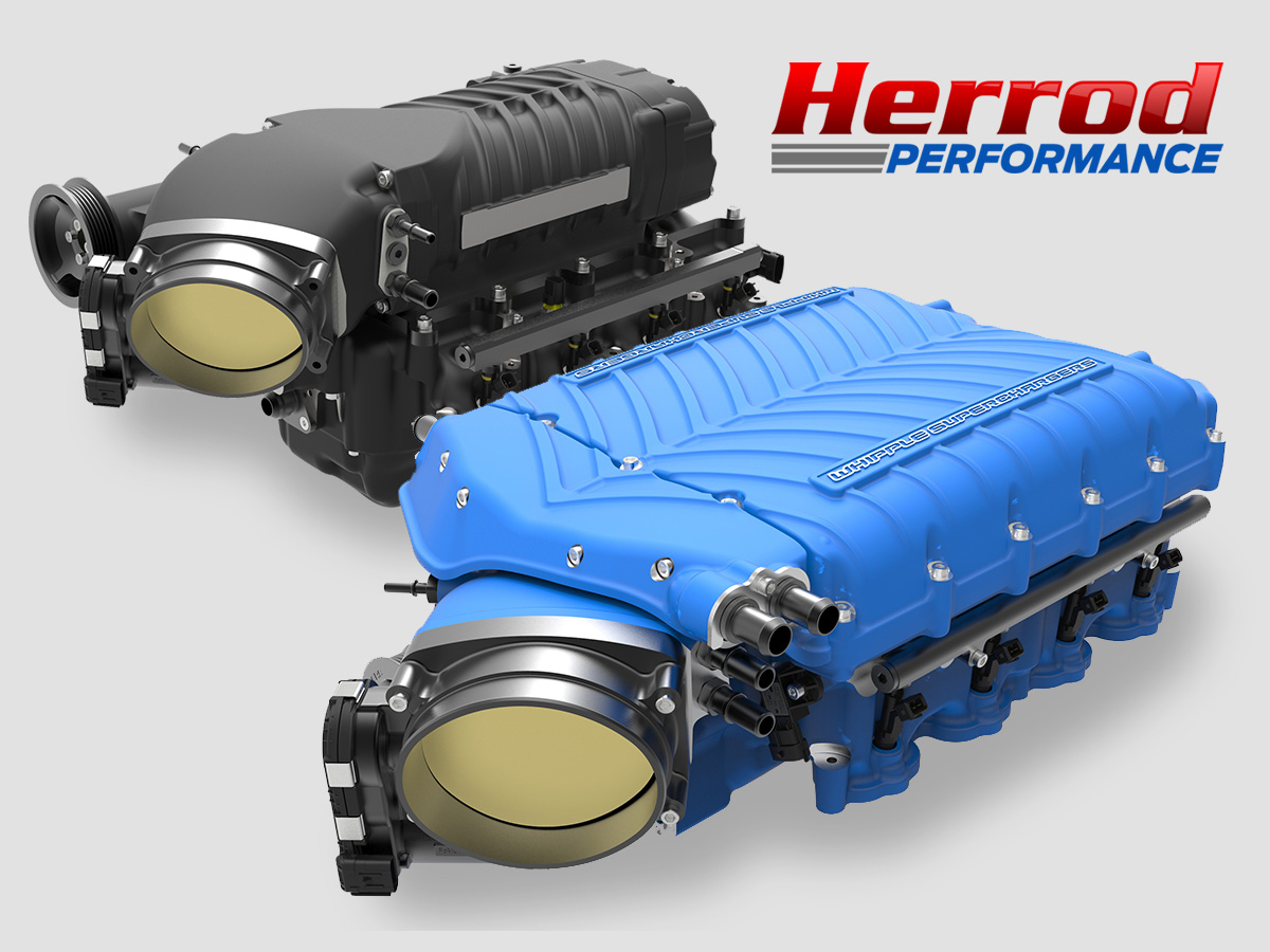 POWER & PERFORMANCE - Whipple Superchargers - Herrod Performance