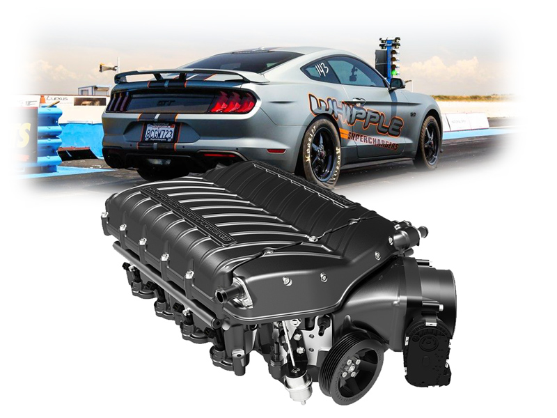 2015-2020 Mustang GT Whipple Supercharger Package