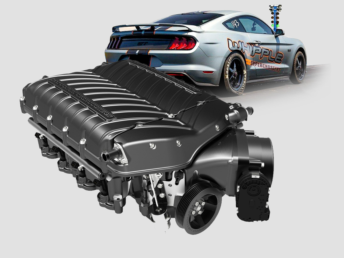 2015-2019 Mustang GT Whipple Supercharger Package