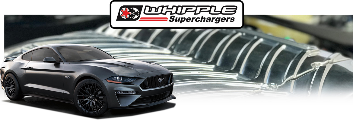 2018-2020 Mustang GT Whipple Supercharger ADR Packages
