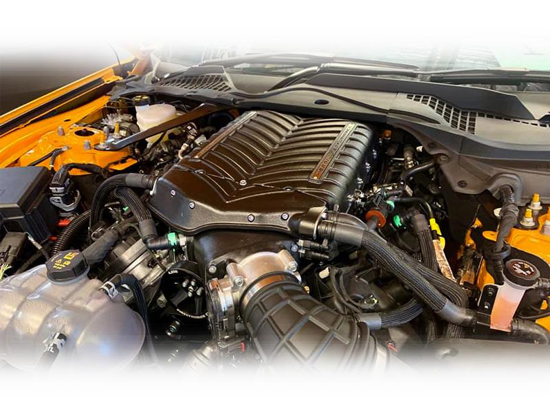 2018-2020 Whipple Supercharger Kit Installed