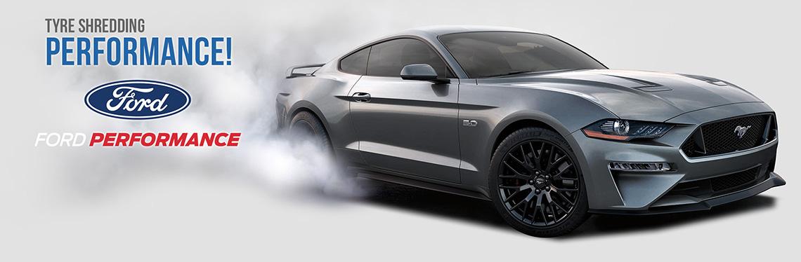 2018 Mustang GT Burnout