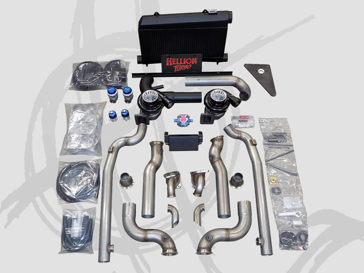 Hellion Mustang Turbo Kits