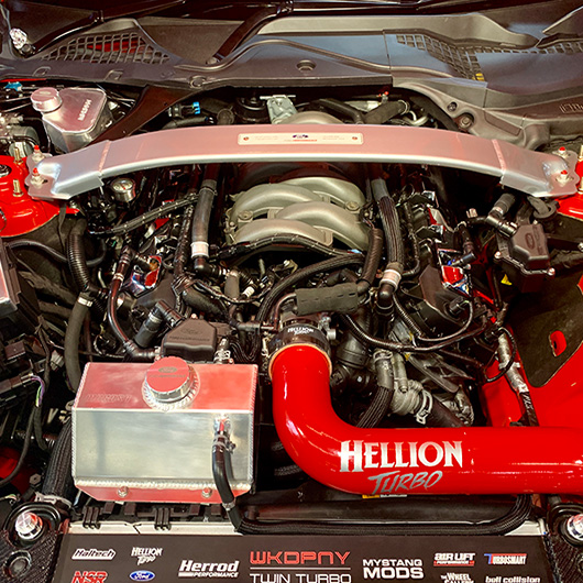Hellion Turbo Kit Engine Bay