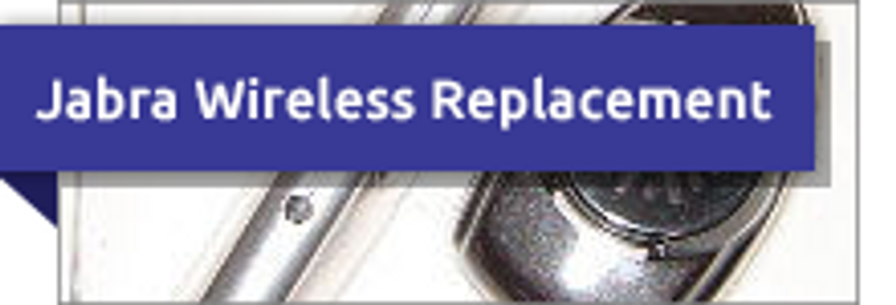 Jabra Wireless Replacement Headset