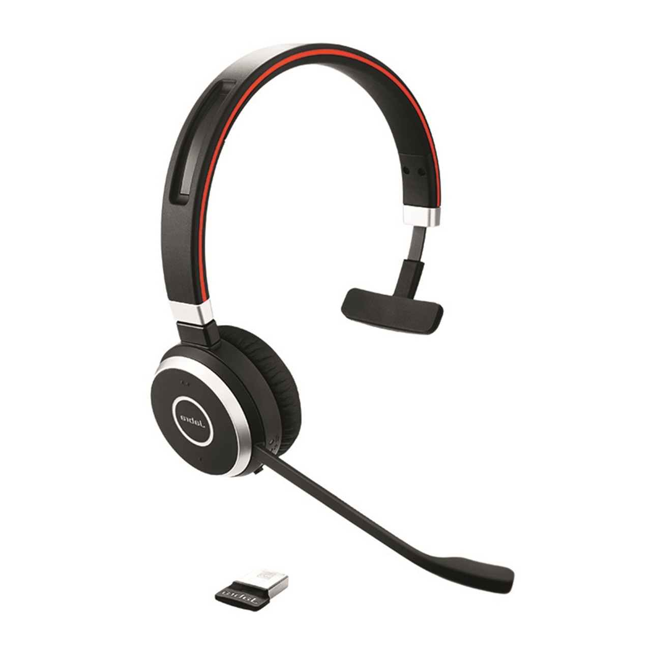 Jabra Evolve 65 UC Wireless Mono Bluetooth Headset W// 360 Lync 6593-829-409