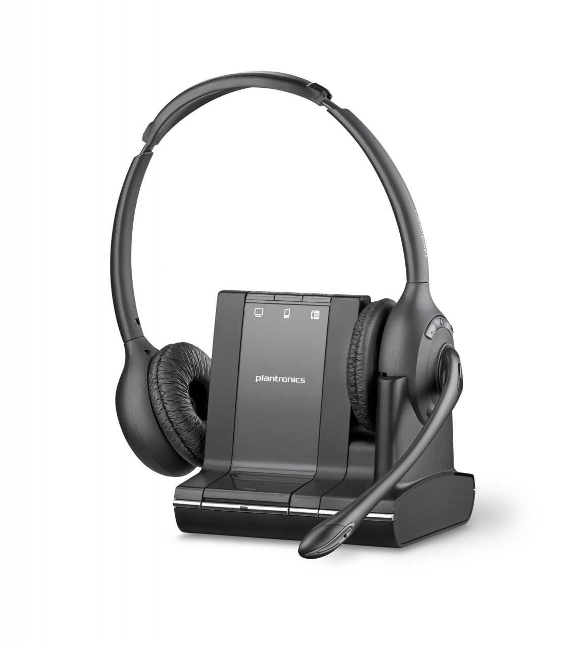 Plantronics Savi W720 83544 01 Multi Use Wireless Headset Smartphone Ipad Iphone Android Tablet And Desk Phone Savi Plantronics Wireless Savi 740 Savi 700 Seires