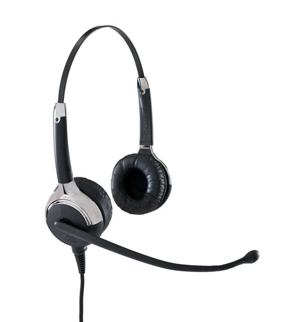 Vxi Proset 21v Duo Stereo Telephone Headset Vxi 203052 Wideband Audio Headset Avaya Nortel Cisco Ibm Mitel Nec And Many More