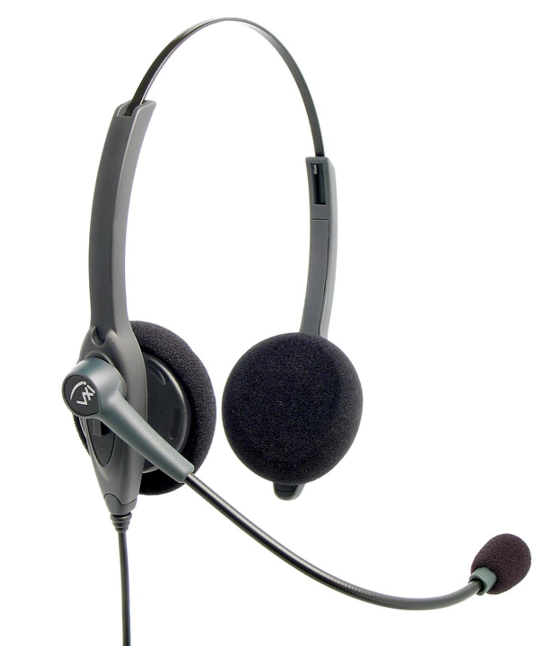 Vxi Passport 21v Mono Telephone Headset Vxi 202768 For Office Phones Avaya Nortel Cisco Nec Mitel Comdial And Many More