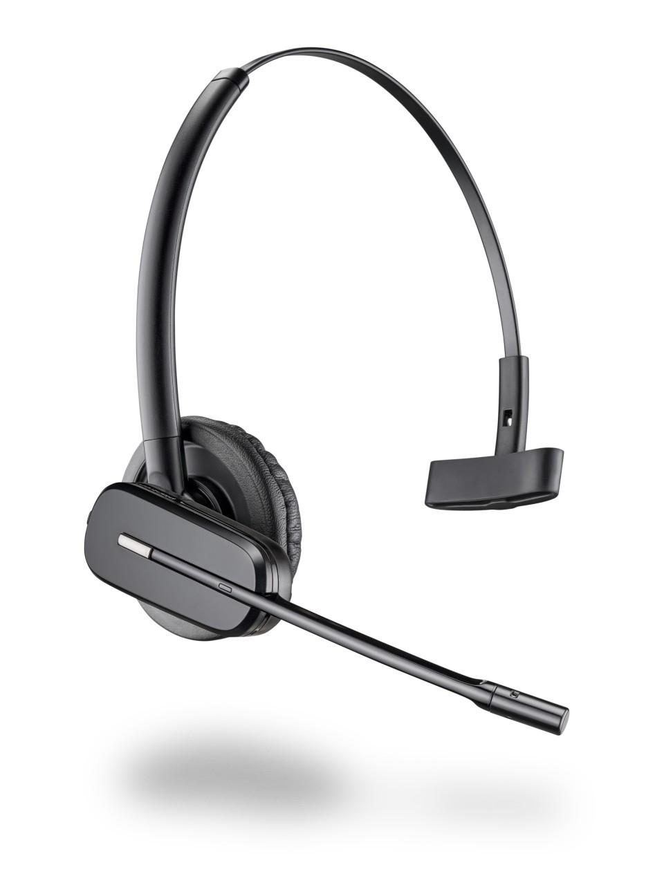 Mitel Compatible Plantronics Cs 540 Wireless Headset Convertible 84693 01 Cs540 Wireless 520 Dect Plantronics Wireless Cs540 Headset