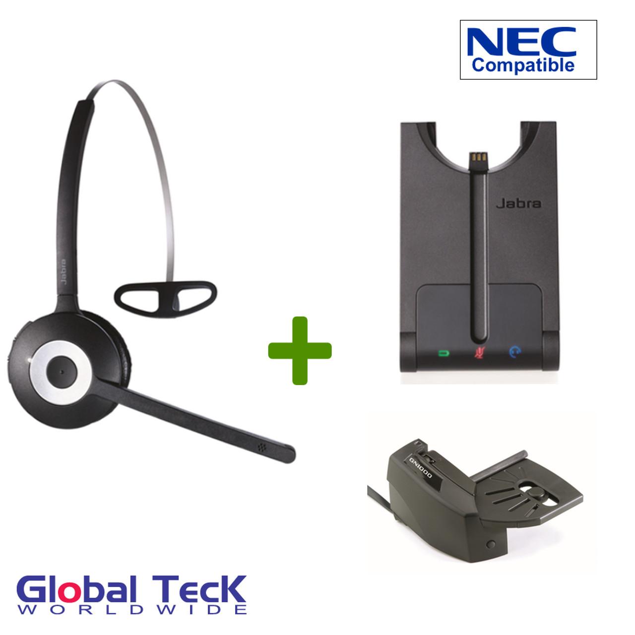 Jabra Pro 920 Bundles Wireless Headset System Includes Gn1000 Lifter 920 65 508 105 Nec Phones Console Elite Mark Dterm Itl Dt300 Dt700