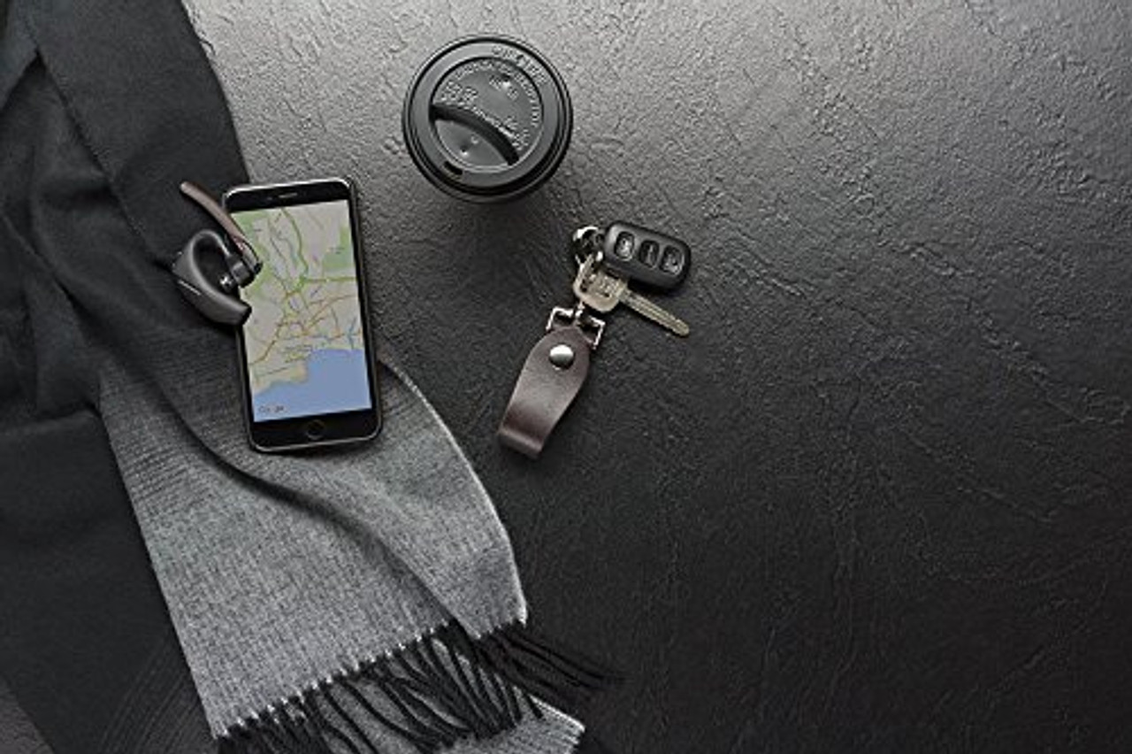 Plantronics Voyager 5200 Uc Bluetooth Headset Usb Dongle And Charging Case 206110 01 For Smartphones Pc Mac Tablet Softphones Voip Unified Communications