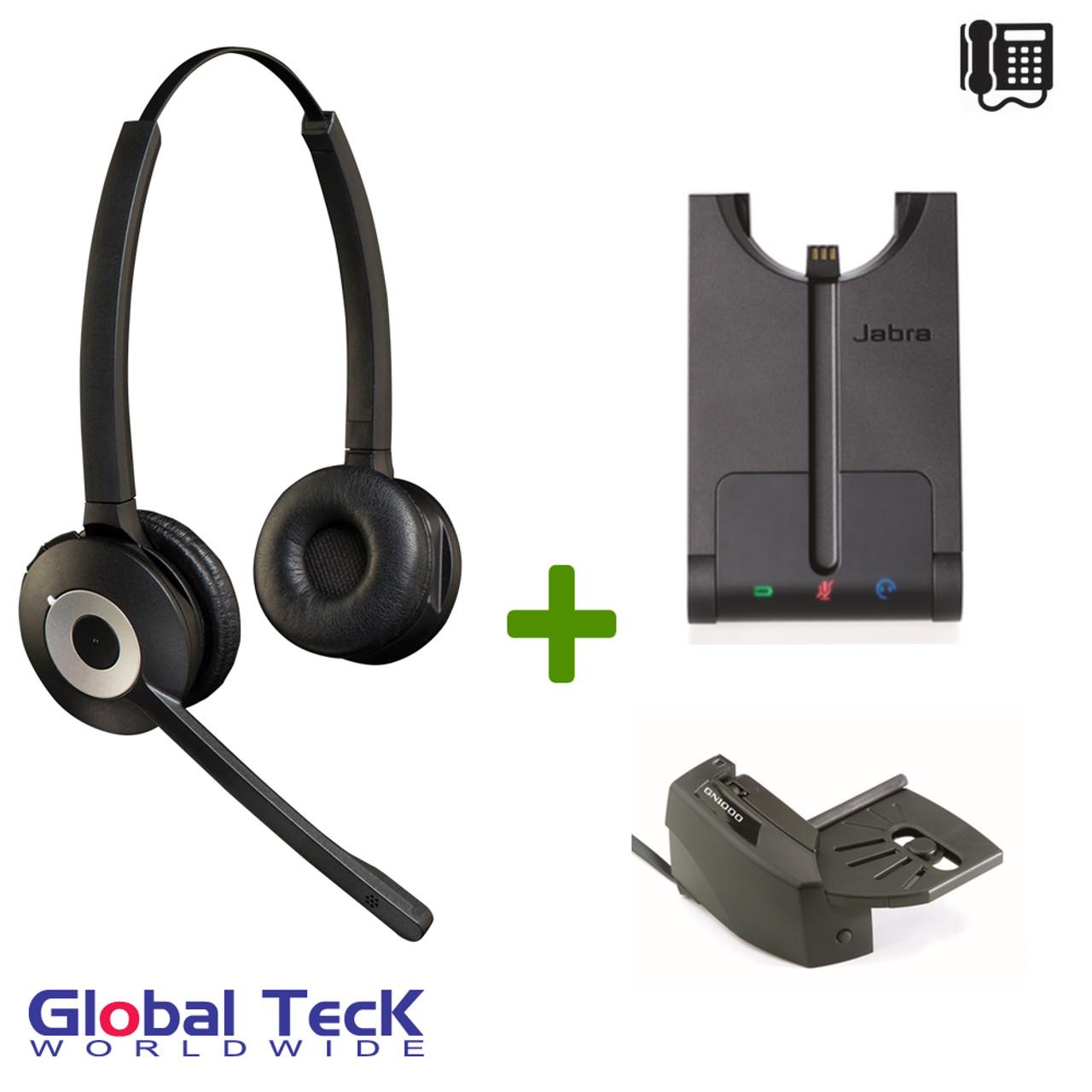 Jabra Pro Duo 920 Bundle Wireless Headset System 920 69 508 105