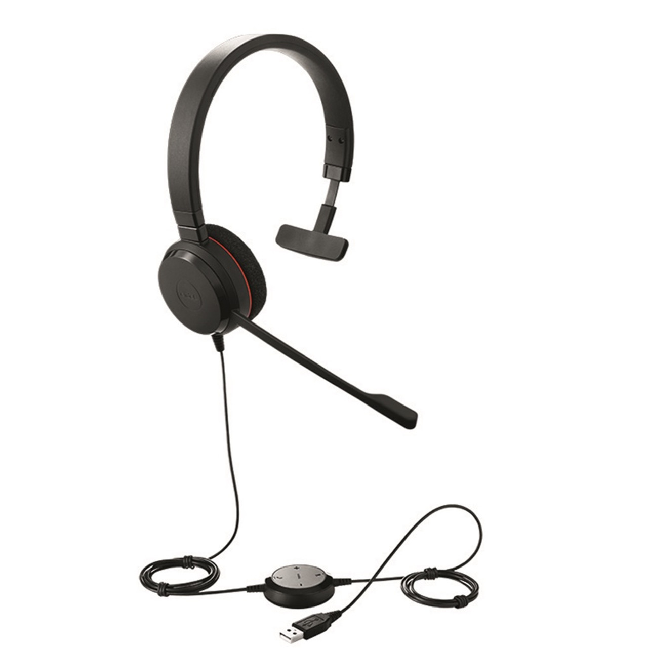 Jabra Evolve 20 Uc Mono Usb Headset Optimized For Unified Communications 4993 829 209