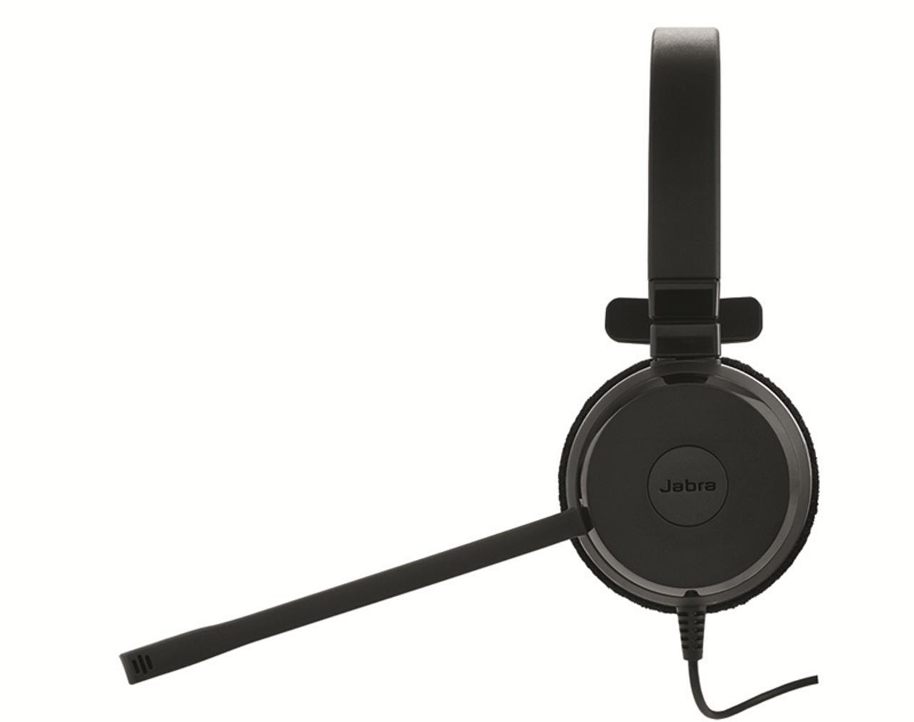Jabra Evolve 20 Ms Stereo Usb Pc Mac Headset Headphones Optimized For Microsoft Skype For Business 4999 823 109