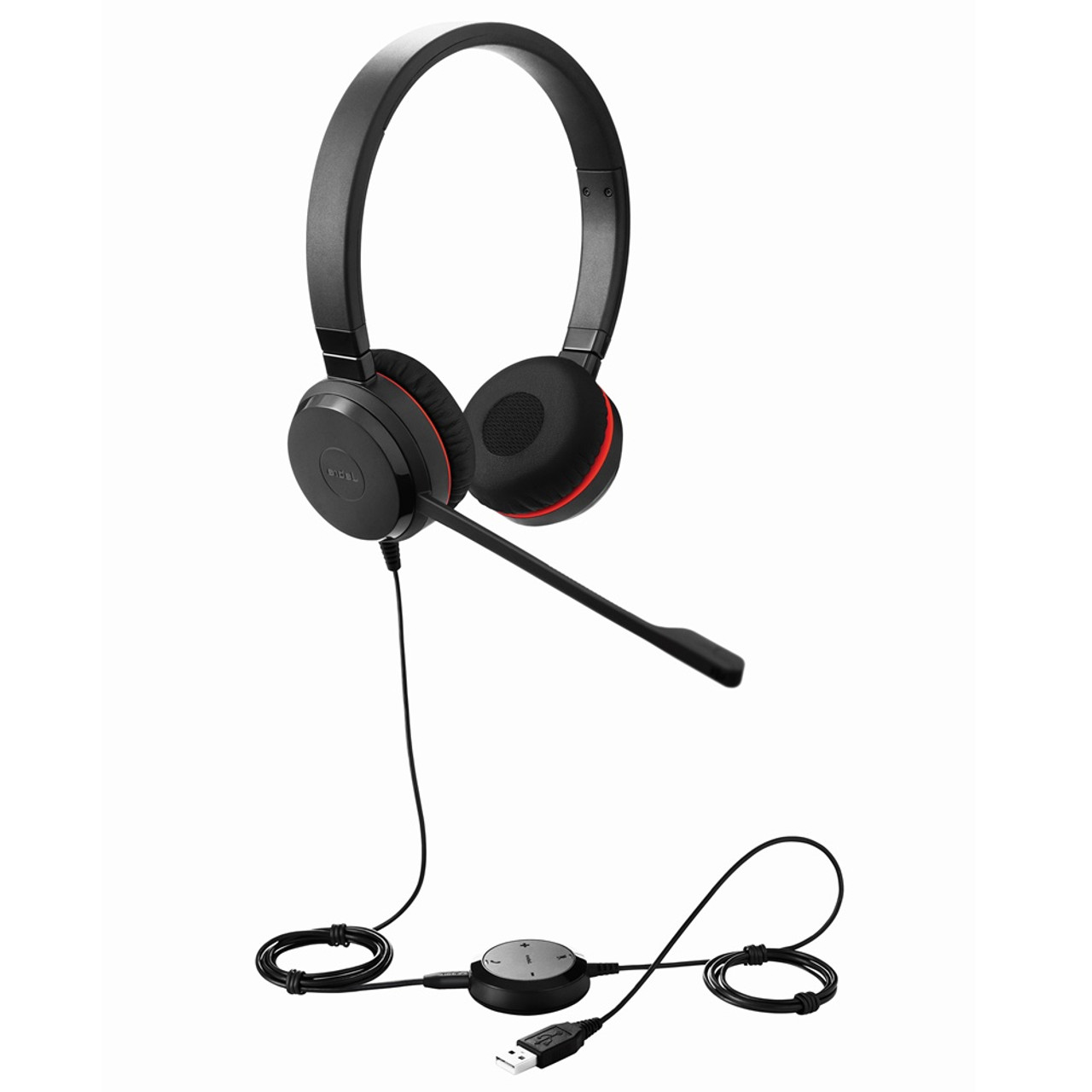 Jabra Evolve 30 Ii Uc Stereo Usb Headset Certified For Unified Communications Voip Softphones Mobile Phones And Tablets 5399 829 309