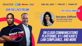 Best VoIP Cloud Platforms For Business, Kari's Law, and WFH trends with DeLaine Clifford