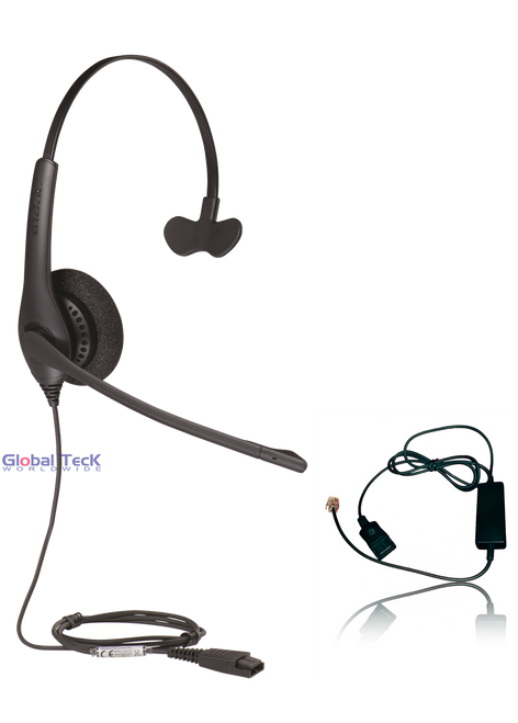 Mitel Compatible Jabra BIZ 1520 Direct Connect Headset