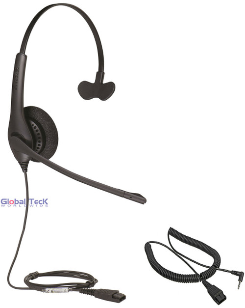 Jabra BIZ 1520 Mono Headset with 2.5mm headset cable